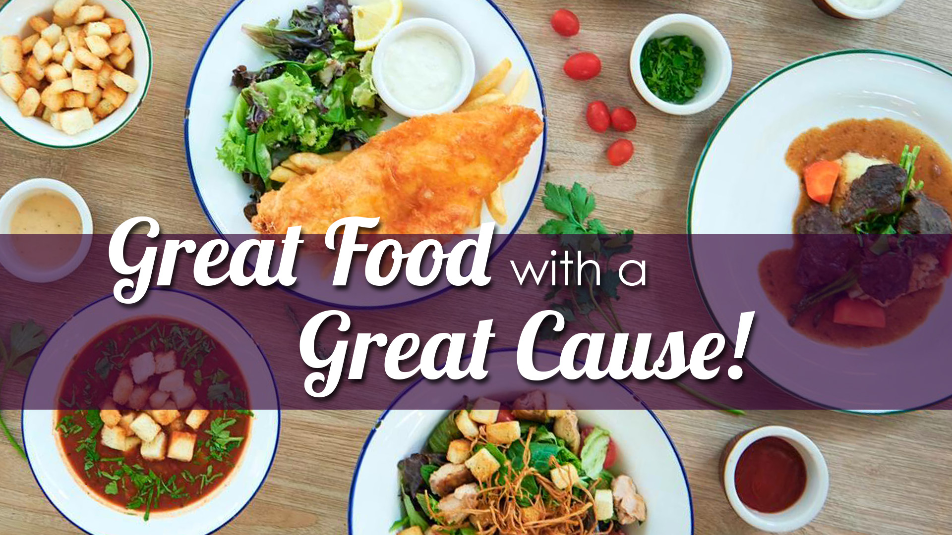 Great Food with a Great Cause